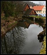 Starý vodní mlýn u Zubrnice (evaneo)