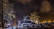 Drevený gotický kostol Všetkých svätých Tvrdošíne (brendon)