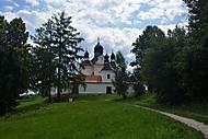 Poutní kostel Nejsvětější Trojice u Trhových Svin (attina)