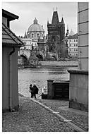 Pohled na Mosteckou věž II. (Yes68)