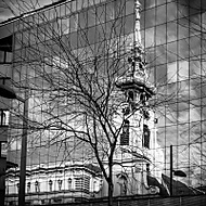 Reflection of a Church (hary marwell)