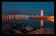 Maják u přístavu - Alanya (Vlastimil Pibil)