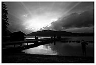 Západ slunce nad Attersee (k20d)