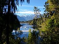 Mount Cook v jezeře (Dančík)