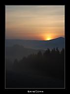 Ráno nad Zázrivou (stisk)