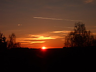Západ slunce.... (evíkzmercedesa)