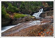 Vodopád na Černé Desné... (Vlastimil Pibil)