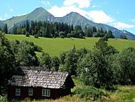 Chalupka v horách (fdoko)