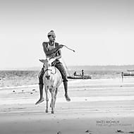 Donkey Ride, Zanzibar (Matej Michal�k)