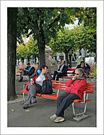 Lugano - Lavičky... (Vlastimil Pibil)