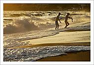 """Večerní, plážové """"laškování""""... (Vlastimil Pibil)"""